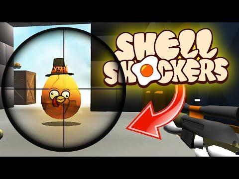 RAREST SNIPE EVER RECORDED In ShellShockers.io