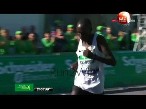 kenyan couple wins Paris marathon