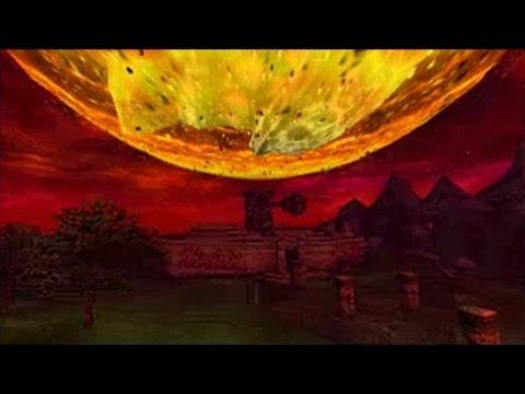 The Legend of Zelda: Majora's Mask 3DS  The Final Hours Moon Crashing