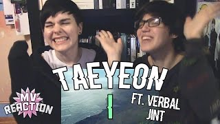 TAEYEON (태연) - I (FEAT. VERBAL JINT) ★ MV REACTION