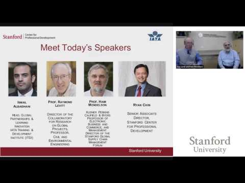 Stanford Webinar - Strategy Execution for the Air Transport