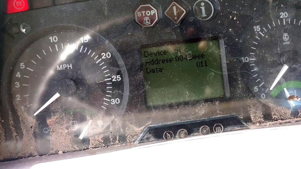 john deere 7320 diagnostic walk through [ 1280 x 720 Pixel ]