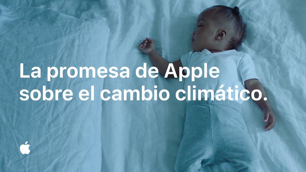 La promesa de Apple sobre el cambio climático