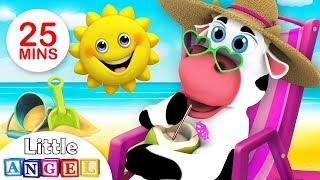BINGO Finds the Missing Cow, Itsy Bitsy Spider, This is the Way & more | Kids Songs by Little Angel