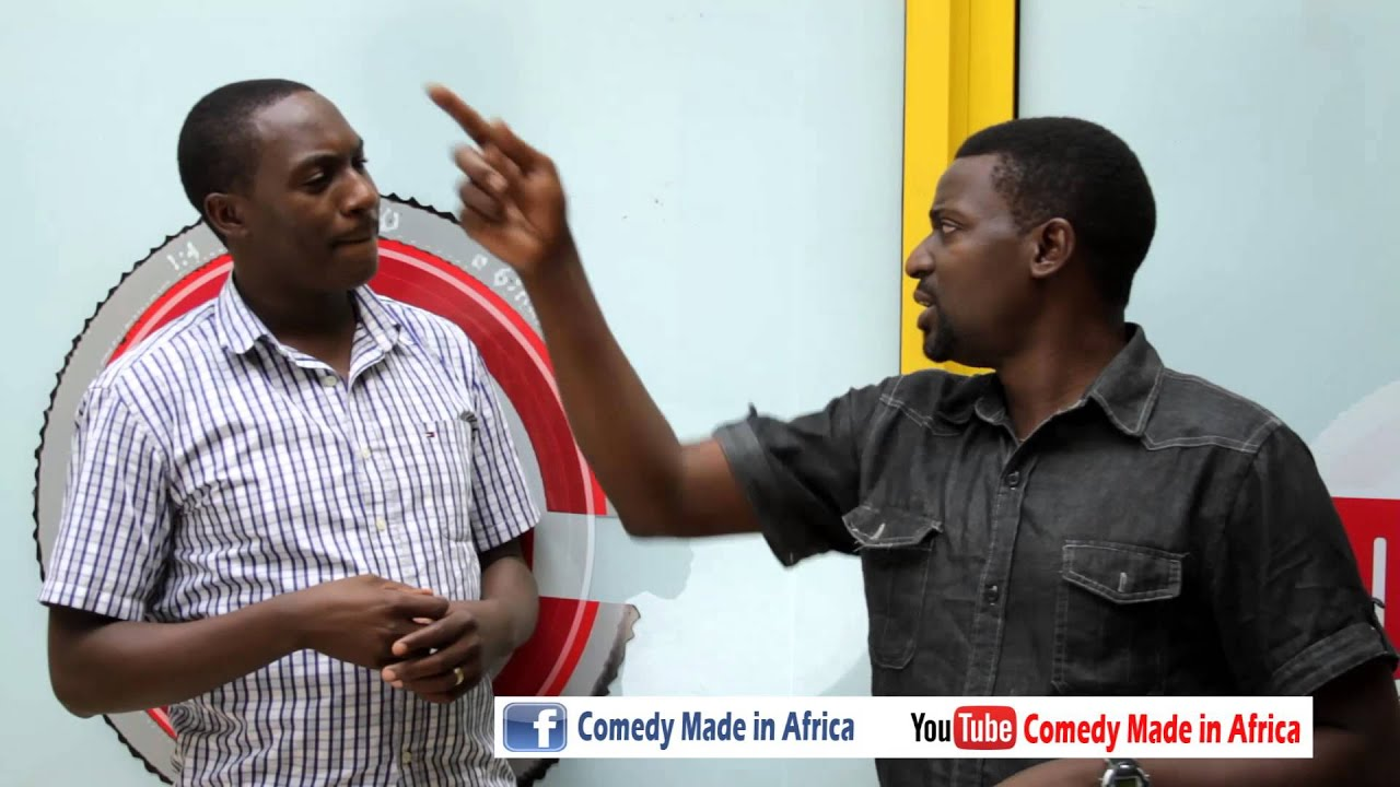 Boss your math is fake-African Comedy