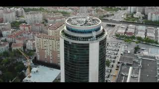 Konya kulesite drone video (4k)