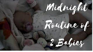 Reborn Midnight Routine l 2 Babies l Reborn Life