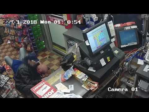Gas station clerk fights off attempted robbery streaming vf