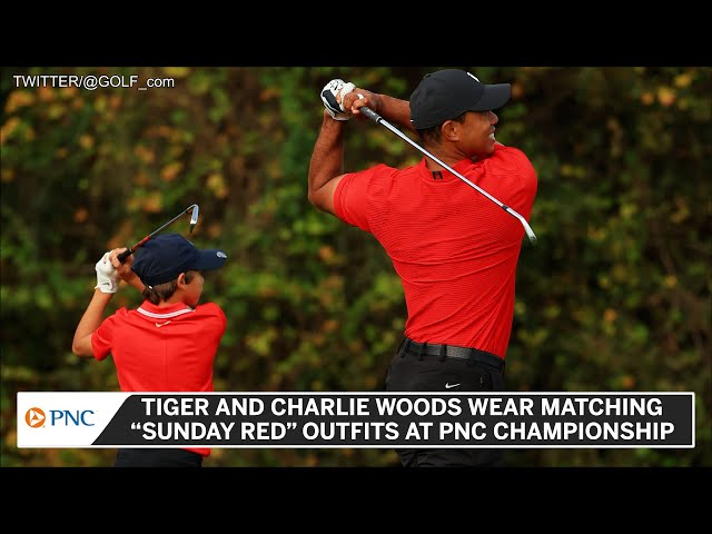 Tiger And Charlie Woods Steal Our Hearts On Sunday At PNC Championship