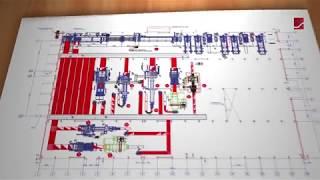 Скачать TCY Flexo Corrugator Plant Planing Service High Efficiency Plant