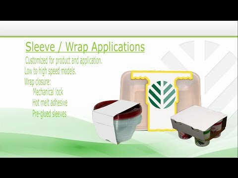 Paperboard Sleevers / Wrap Machinery And Backcarding Machines - GPI