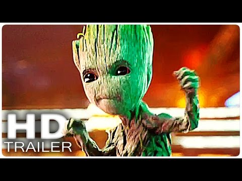 GUARDIANS OF THE GALAXY 2 Baby Groot Trailer + Clip German Deutsch | Marvel 2017