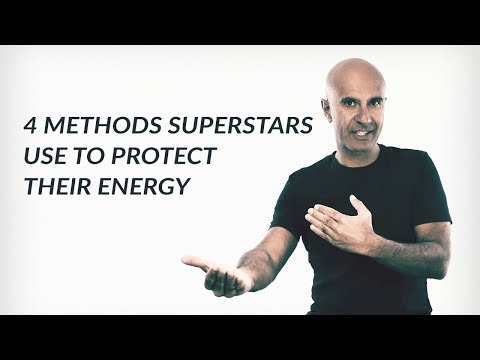 4 Methods Superstars Use To Protect Their Energy | Robin Sharma