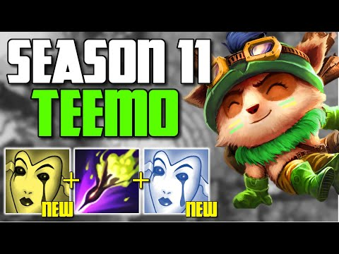 *NEW* DOUBLE BURN TEEMO DESTROYS TRICK2G IN PRESEASON 11 GAME! (2 LIANDRIAS) - League of Legends