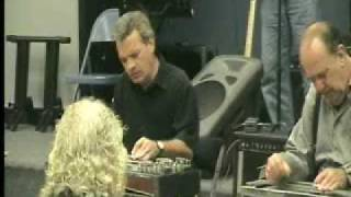 Bobby Bowman and Jody Cameron Playing together At S.E. Texas Steel Guitar Meeting 10/4/2009