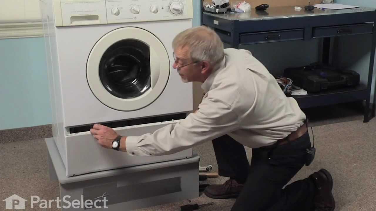 Washer Repair Replacing The Shock Absorber Kit