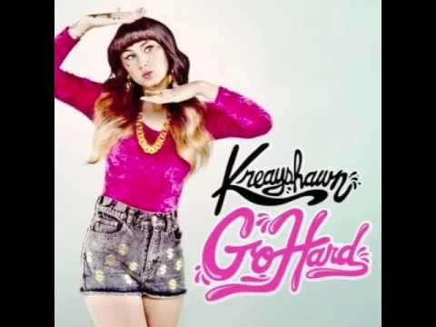 Go Hard - Kreayshawn (Lyrics in description)
