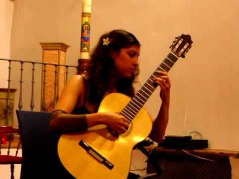 Gaëlle Solal plays Recuerdos de la alhambra (F. Tárrega)