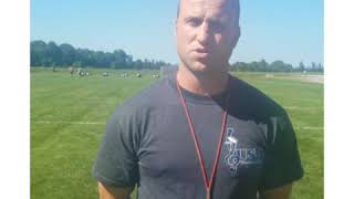 USA football coach Josh Hahn