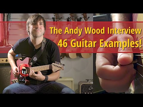 Andy Wood Interview - 46 Guitar Examples Supercut!