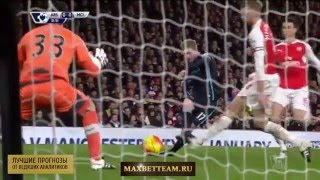 Арсенал-Манчестер Сити 2-1 обзор матча в hd 21.12.2015 от команды Maxbetteam.ru