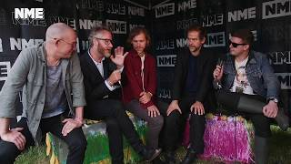 Glastonbury 2017: Backstage with The National