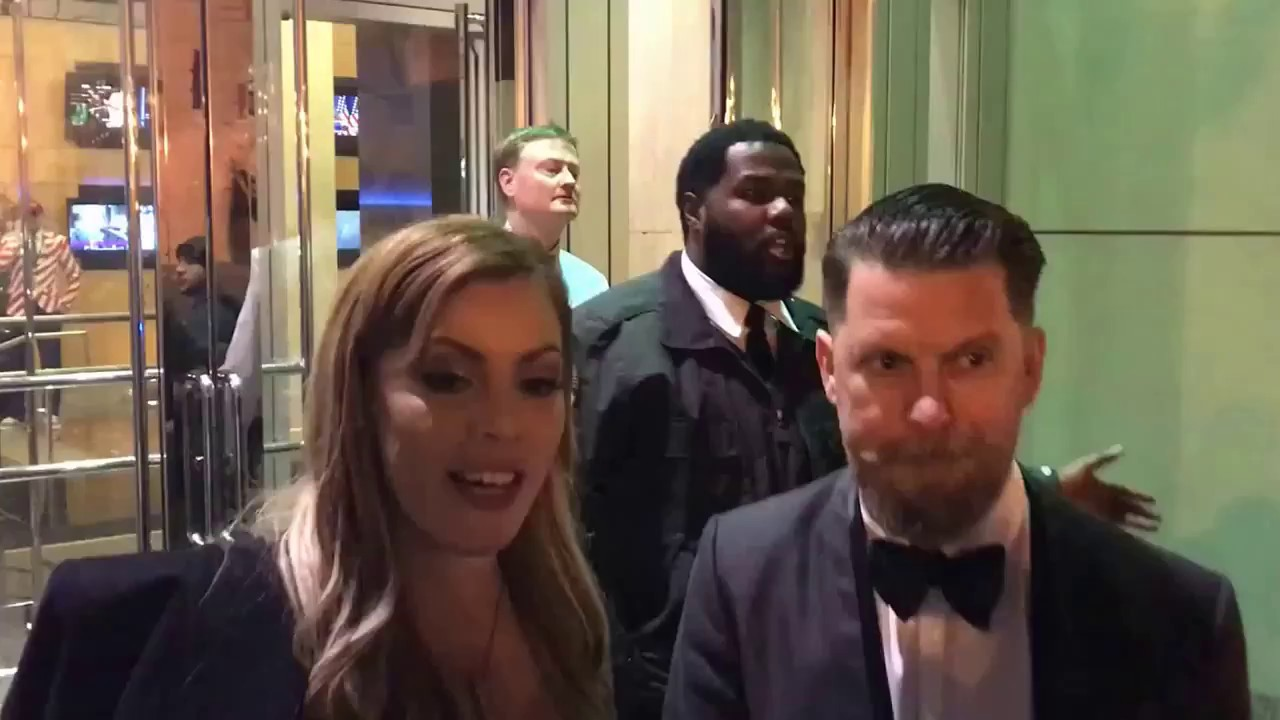 gavin mcinnes gets into a fist fight at the deploraball