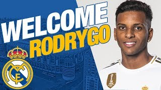 Rodrygo Goes' Real Madrid presentation   Behind the scenes