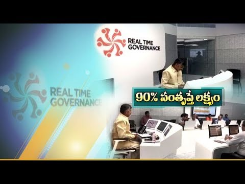 CM Chandrababu Sets 90% Target Satisfaction  in Civil Supplies Department