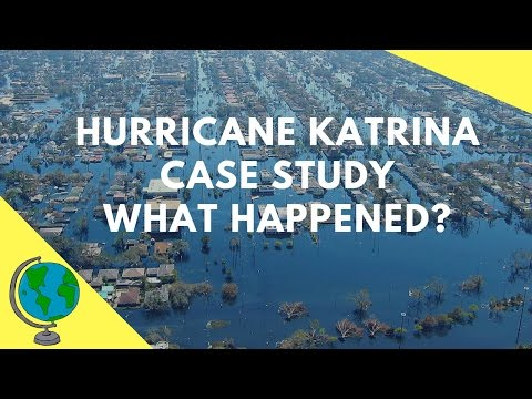 Hurricane Katrina 2005- Geography Case Study & overview of the events