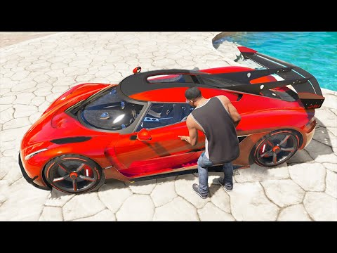 GTA 5 Stealing Super Fastest Cars With Franklin #15 (GTA 5 Luxury Expensive Cars)