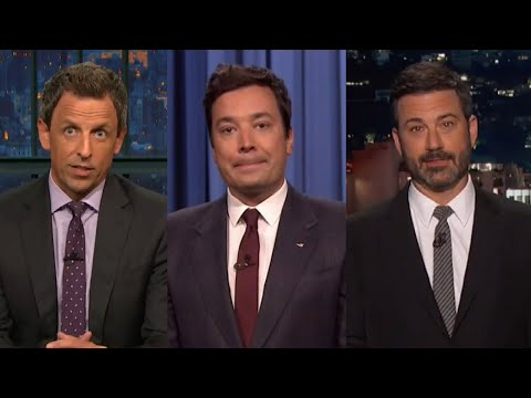 Late Night Hosts Deliver Somber Monologues to Address