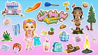 Sweet Baby Girl Summer Camp - Holiday Fun for Kids | TutoTOONS Cartoons & Games for Kids