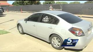 Man arrested after breaking into car near jail