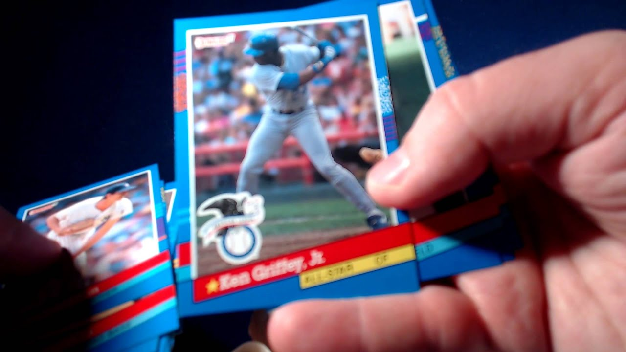 1991 Donruss Baseball Series 1 Vintage Box Break
