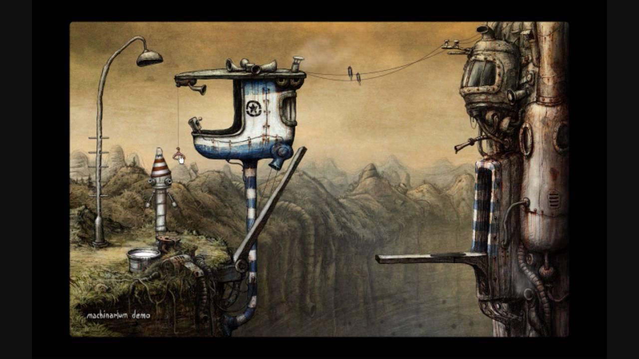 Machinarium (Demo) Gameplay