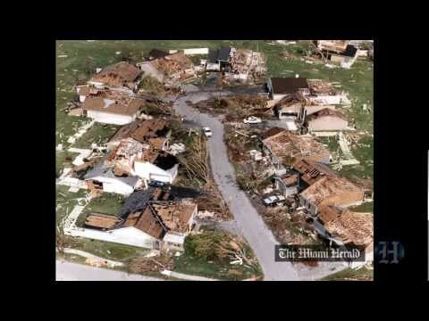 Then and Now: Scenes from Hurricane Andrew