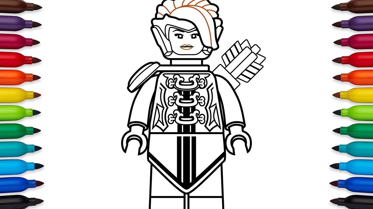 How To Draw Lego Lady Iron Dragon Koko From The Lego Ninjago Movie
