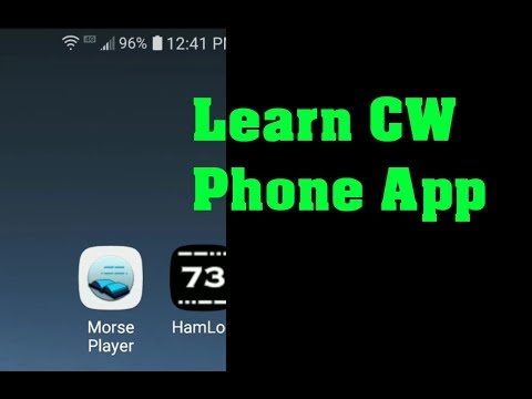 Best CW Morse Phone App For Learning / Practicing CW