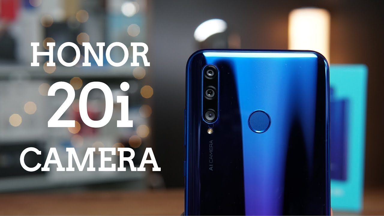 Honor 20i Camera Features, test