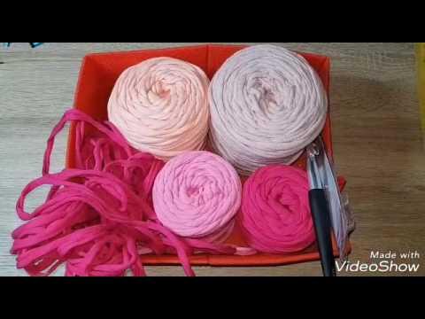 Häkelteppich Aus Textilgarn Youtube