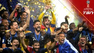 FRANCE WIN THE 2018 WORLD CUP!