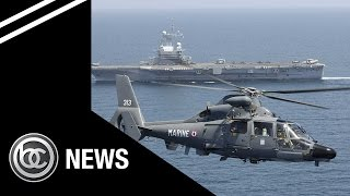 BREAKING NEWS: French Aircraft Carrier Charles de Gaulle Launches Attack on ISIS