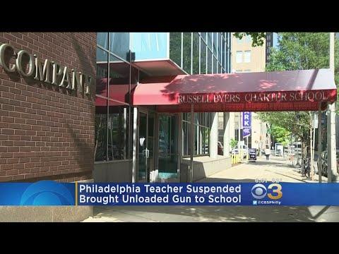 Philadelphia Teacher Suspended For Bringing Unloaded Gun To School