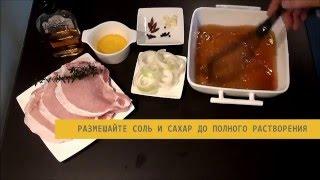 Видео рецепт: свинина в маринаде