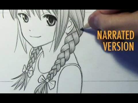 How To Draw Braids Narrated Step By Step Youtube