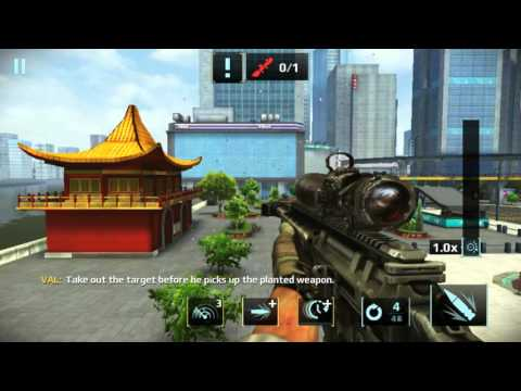 Sniper Fury : Shanghai Story Mission - 1 (Shanghai Garden Party) Gameplay