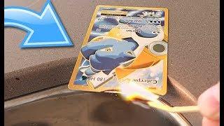 DESTROYING Illegal Pokemon Cards
