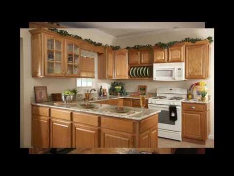 Ideas de color de la cocina con armarios de roble