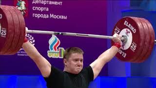 Сергей Шаренков BLR Men 102kg European Championships Moscow 2021